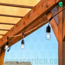 led outdoor weatherproof string lights manufacture