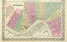 Maps Of Louisiana by New Orleans Maps From Various Sources
