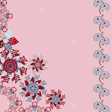 Floral Invitation Card Designs Floral Invitation Or Greeting Card On Cute Pink Background