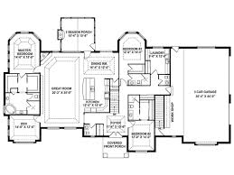 one story open floor house plans craftsman house plan story retreat open tranquil living