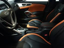 hyundai veloster 2016 interior custom leather interior for my vitamin c