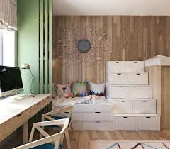 what is a contemporary house in the small but stylish kids room division also comes into play