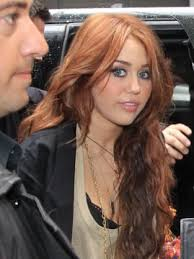 dying red hair light brown ginger alert miley cyrus dyes her hair the hollywood gossip