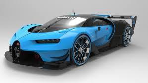 bugatti concept bugatti vision gran turismo concept 2015 3d model max obj 3ds fbx