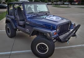 dark grey jeep rare 1997 jeep wrangler u2013 dark montego blue pearl paint code pcj