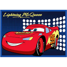 Cars Area Rug Disney Cars Lightning Mcqueen Rug Walmart