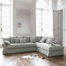Duck Egg Blue Sofas Uk Corner Sofa In Light Grey Linen Seats 6 Bastide