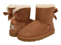 ugg mini bailey bow grey sale ugg mini bailey bow toddler kid at zappos com