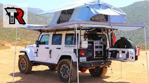 jeep wrangler overland tent overland jeep wrangler walk around youtube