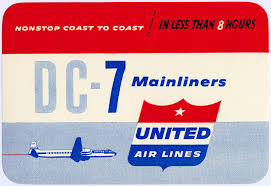 United Airline Baggage by United Airlines Usa 1950s Logos Baggage Labels And Decals
