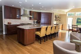 Modern Cherry Kitchen Cabinets Soft Contemporary Cherry Kitchen Remodel In Rochester Ny Concept Ii