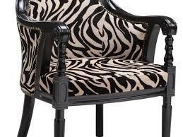 Zebra Accent Chair Marlon Zebra Print Accent Chair With Animal Print Accent Chairs