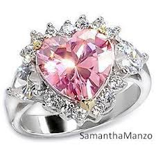 Pink Diamond Wedding Ring by 33 Most Wanted Stunning Pink Diamond Heart Engagement Ring