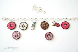 charm bracelet make images Shrinky dink donut charm bracelet happiness is homemade jpg
