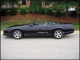 88 camaro iroc z for sale 1988 chevrolet camaro iroc z convertible 305 tpi v8 camaros