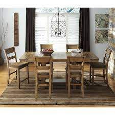 counter height dining room sets krinden counter height dining room set signature design by