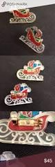 1965 hallmark santa u0027s sleigh brooch 2 avail 1965 lucite and enamel
