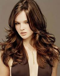 short dark brown hair with caramel lowlights hairstyle picture magz