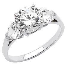 inexpensive engagement rings 200 14k white gold cut 2 25 ctw equivalent adds