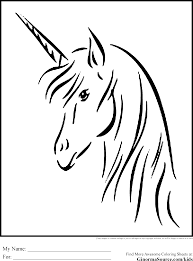 unicorn head clipart 52