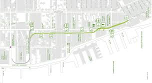 High Line New York Map by High Line In New York The Rail Yards Territoire