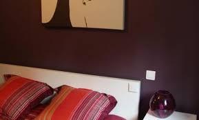 chambre couleur aubergine décoration chambre couleur aubergine taupe 97 le havre deco