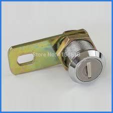 cabinet keyed cam lock 5 pieces 22mm waterproof dustproof keyed alike flat key cam lock