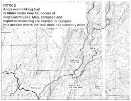 Boundary Waters Map Boundary Waters Blogger Angleworm Hiking Trail In The Bwcaw Is