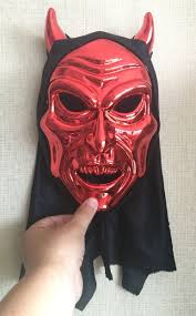Online Buy Wholesale Red Devil Masquerade Mask From China Red