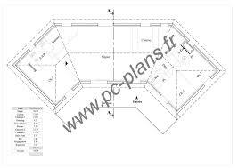 plan de maison en v plain pied 4 chambres plan rdc maison traditionnelle plain pied annora le de pc plans