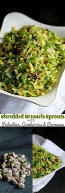 crispy brussels sprout salad with pomegranate seeds recipe