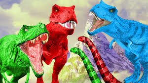 colours dinosaurs movie for kids colors dinosaurs cartoons for