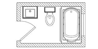 bathroom floor plans small bathroom with tub plans homeform