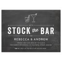 stock the bar shower personalized wedding showers invitations expressionery