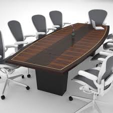 Boat Shaped Boardroom Table Fascinating Boat Shaped Conference Table Wood Construction Slab