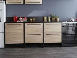 meuble de cuisine en bois ordinary meuble bas de cuisine 60 cm 1 meuble bas cuisine en bois