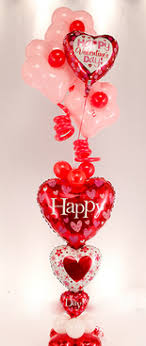 valentines day balloon delivery balloon decoration my deco balloon s day bouquets