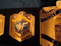 Light Heavyweight Champion Wwf Light Heavyweight Championship Belt Youtube