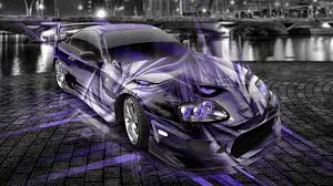 custom supra wallpaper toyota supra jdm anime bleach aerography city car 2014 el tony