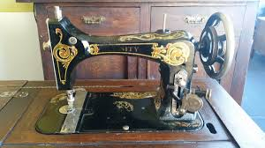 Antique Singer Sewing Machine And Cabinet Antique National Unity Treadle Sewing Machine And Cabinet