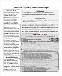 Best Resume For Fresher Mechanical Engineer by Graduate Fresher Resume Templates 6 Free Word Pdf Format