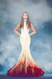 ombre wedding dress 20 stunning non white wedding dresses for the bold and daring