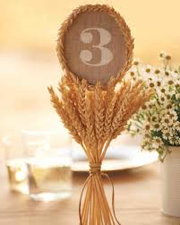 modern table numbers rustic country wedding ideas martha stewart weddings