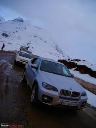 first bmw the first bmw x6 to scale the himalayas team bhp