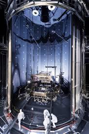 space simulation chamber prepared for testing webb telescope nasa
