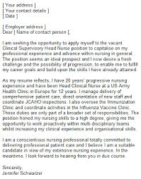 nursing covering letter sample for nurses of all grades