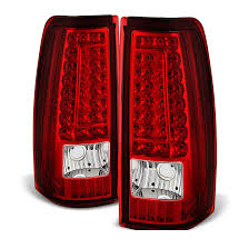 2004 silverado tail lights 04 06 gmc sierra pickup truck led tail lights tail ls