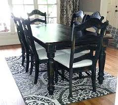 pictures of painted dining room tables painted dining room sets oak dining room set makeover chalk paint