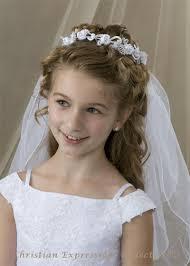 communion headpieces communion bun wrap veil v826 bridal veils