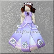 sofia the ribbon sofia the ribbon sculpture hair clip princess by girlykurlz